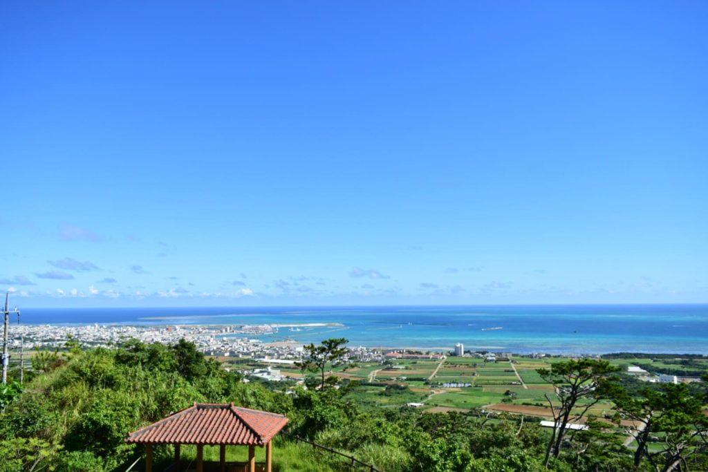 石垣島天文台からの景色